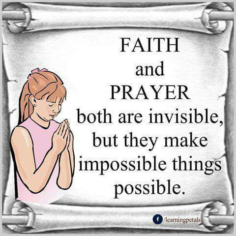 Thought For The Day About Faith And Prayer Moral Stories That
