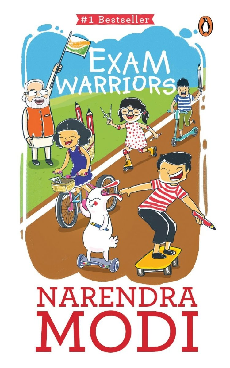 BOOK REVIEW OF EXAM WARRIORS BY NARENDRA MODI