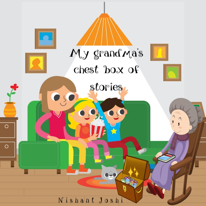 MY GRANDMA'S CHEST BOX OF STORIES BOOK COVER